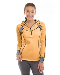Cassia Funnel Sweatshirt-S-Orange